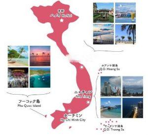 南北に長いビーチが続き、プライベートビーチならダナン、 ビーチレストランならホイアン(アンバンビーチ)がおすすめ